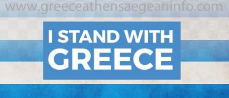 I stand with Greece