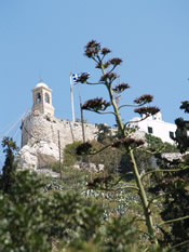 click larger - mt. lykabettus church st George