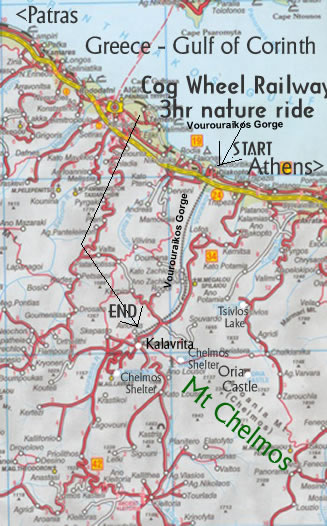 map of surrounding chelmos area