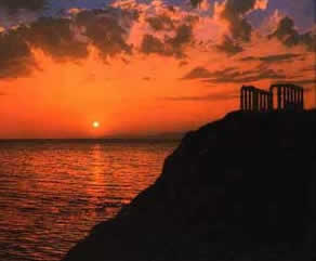 Athens tours Sounion Cape Aegean