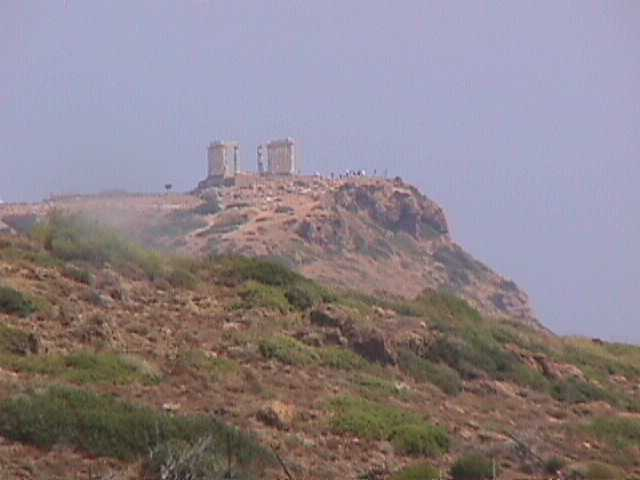 cape sounion temple Poseidon