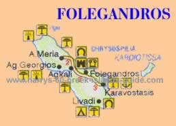 folegandros greek island map