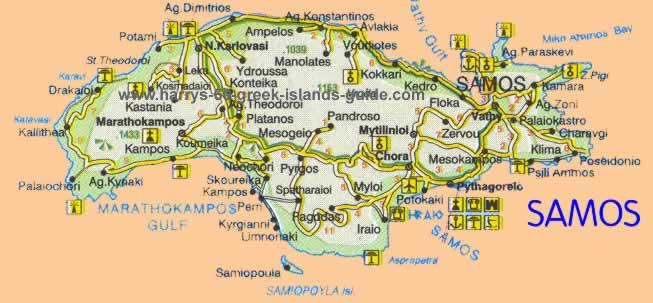 greece travelmap samos
