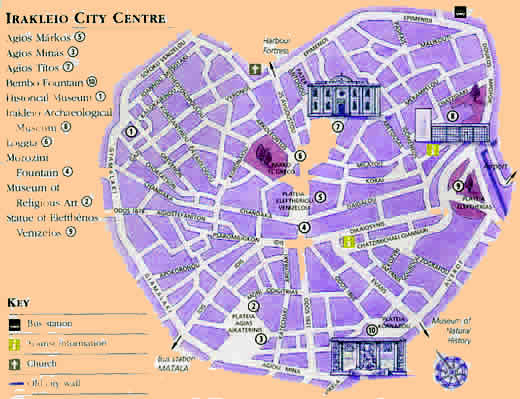 the 'free' city map