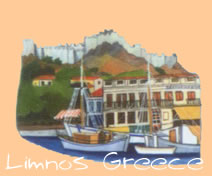 limnos is a strategic island and beautiful too