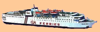 greek island ferry boats schedules free info
